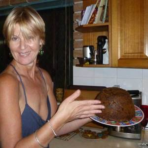 Christmas pudding 2010 - cooked perfectly in a pudding bowl