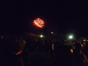 Fireworks to end the show