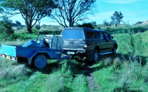 The rodeo bogged again - it should be a Toyota!