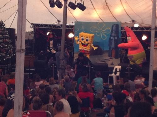 Sponge Bob Squarepants in concert