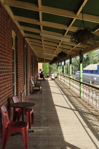 Pub balcony - Royal Hotel, Gilgandra