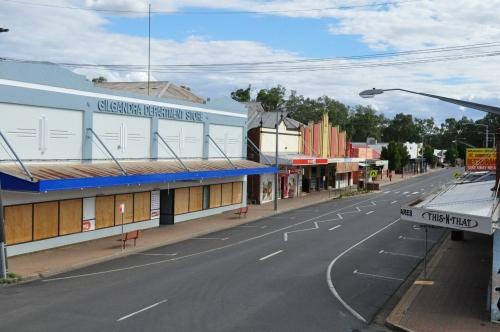 Main street Gilgandra