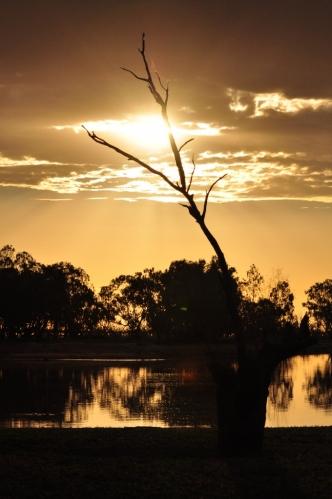 Sunset Lake Menindee