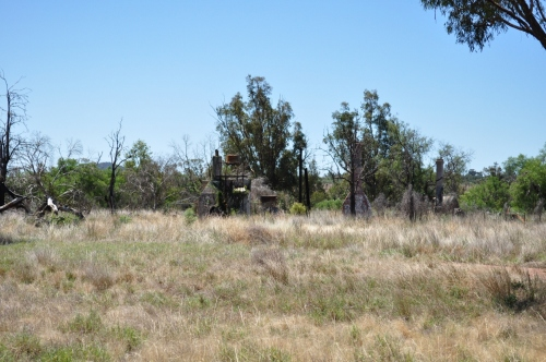 Old Gummin Gummin Homestead outside the Warrambungles. Not burnt out by the bushfires